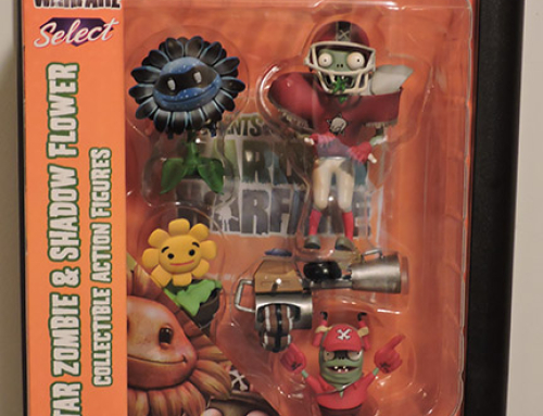 Plants vs Zombies Diamond Select – All-Star Zombie & Shadow Flower Action Figures