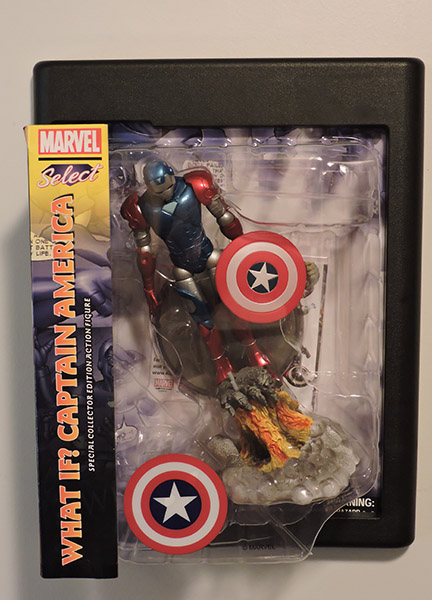 "Marvel Select ""What If?"" Captain America Action Figure"