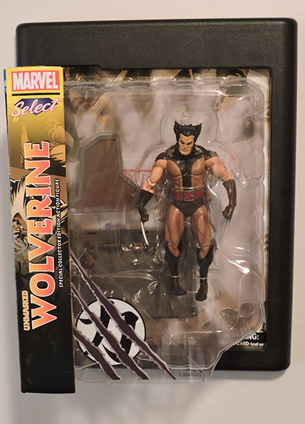 Marvel Select Unmasked Wolverine Figure